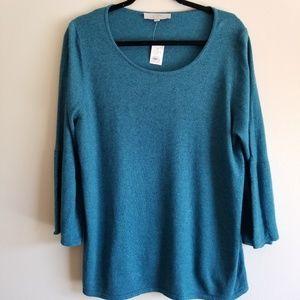LOFT NWT Bell Sleeve Sweater